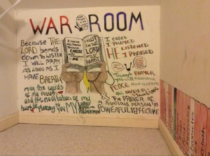 war room for Godly Woman 911