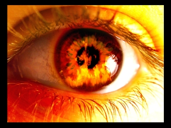 Eyes on fire - Revelations 19:12 - @GodlyWoman911